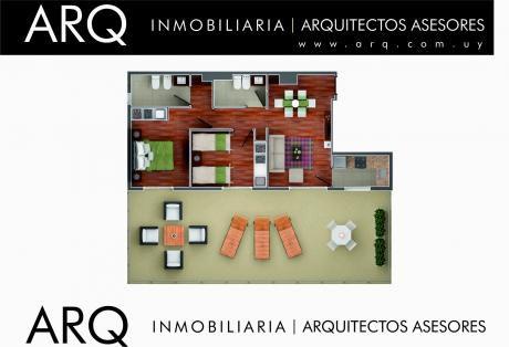 Punta Carretas A Estrenar 2 Dormitorios