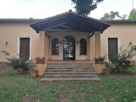 Alquilo Amplia Casa En Aregua