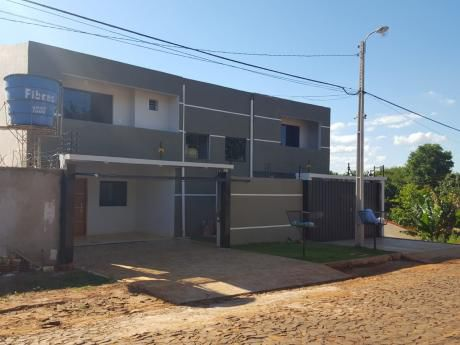 Vendo Duplex Nuevo A Estrenar En Ciudad Del Este, Barrio Santa Ana,