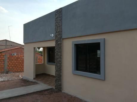 Vendo Hermosa Casa A Estrenar En Villa Elisa, De 3 Habitaciones.