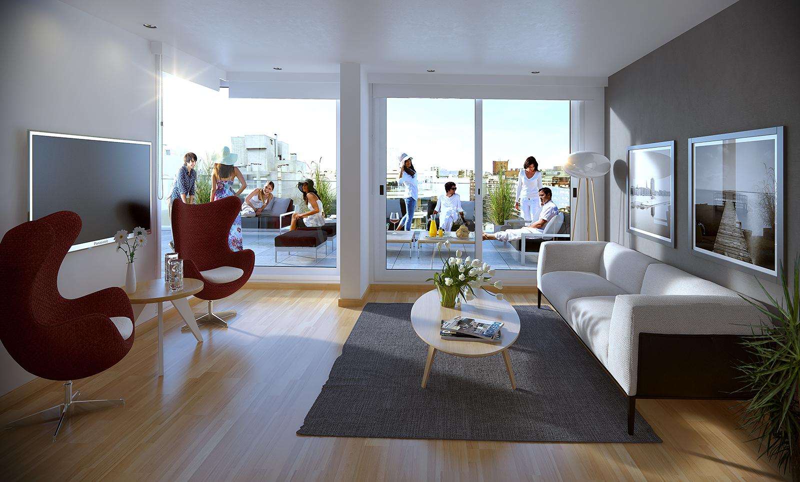 Referencia 55726 Apartamento Monoambiente Pocitos Venta  # Muebles Vicente Lezica