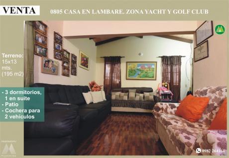 0805 Casa En Lambare, Barrio Mbachio