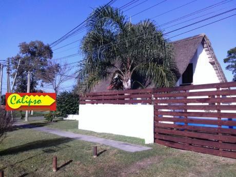 Casa- 3 Dormitorios -parque Del Plata- Inmobiliaria Calipso