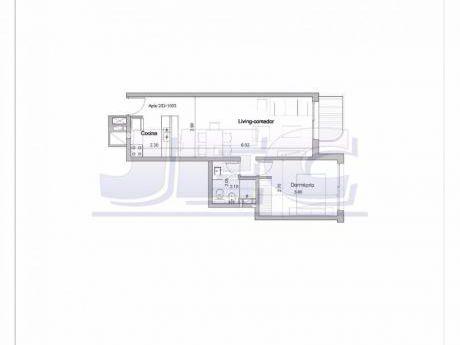 Rambla Estrene,living Y Dormitorio Con Vista Al Mar