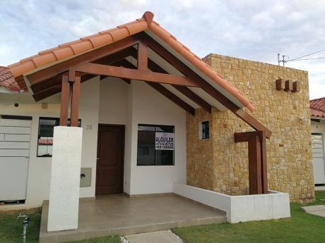 Linda Casa En Anticretico En Condominio La Fontana