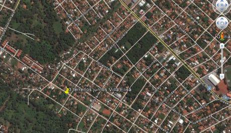Terrenos En Villa Elisa - Paraguay 1440m2