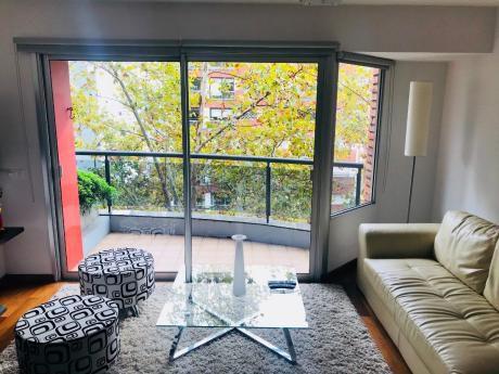 Precioso Apartamento, 1 Dormitorio, Con Estufa, Pocitos!