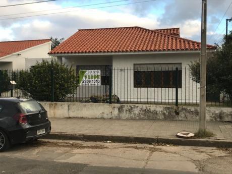 Casa Con Terreno Y Galpón En Prado Norte