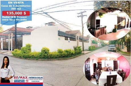 Casa En Venta Entre 3er Y 4to Anillo Zona Polanco