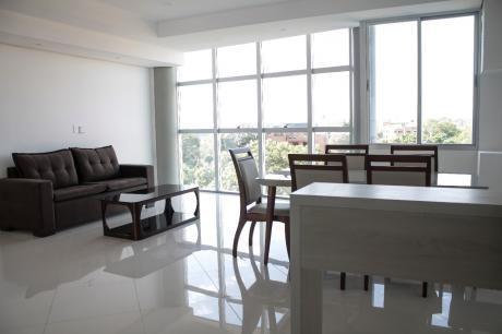 Departamento De 2 Dormitorios En Suite, A Estrenar, Amoblado Y Equipado