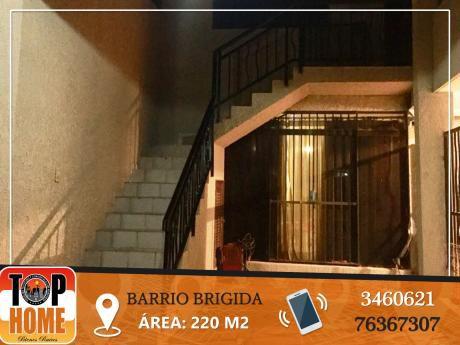 Alquiler Linda Casa En El Barrio Brigida