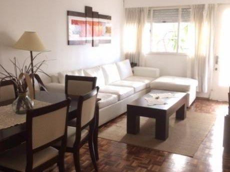Excelente Apartamento Con Fondo Y Barbacoa De Uso Exclusivo