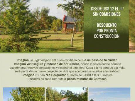 La Horqueta .lote 6 . 5.600 M.