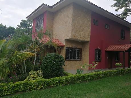 En Venta Casa En Condominio Laguna Azul Km17 Doble Vía La Guardia