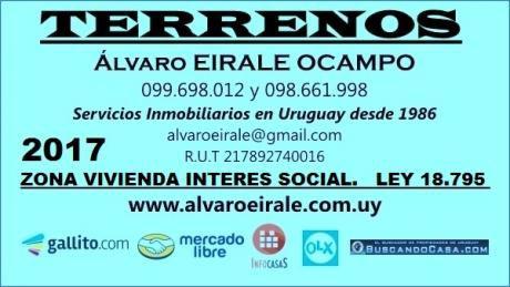 U120533 110.000=terrreno Esquina La Blanqueada Zona V.i.s.