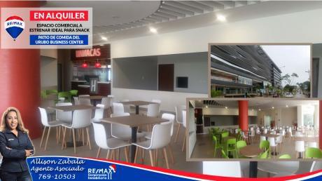 Local En Alquiler Ideal Para Venta De Comida RÁpida En El Urubo Business Center