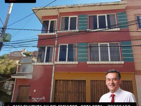 Casa En Venta Av. Del Escultor - Cota Cota