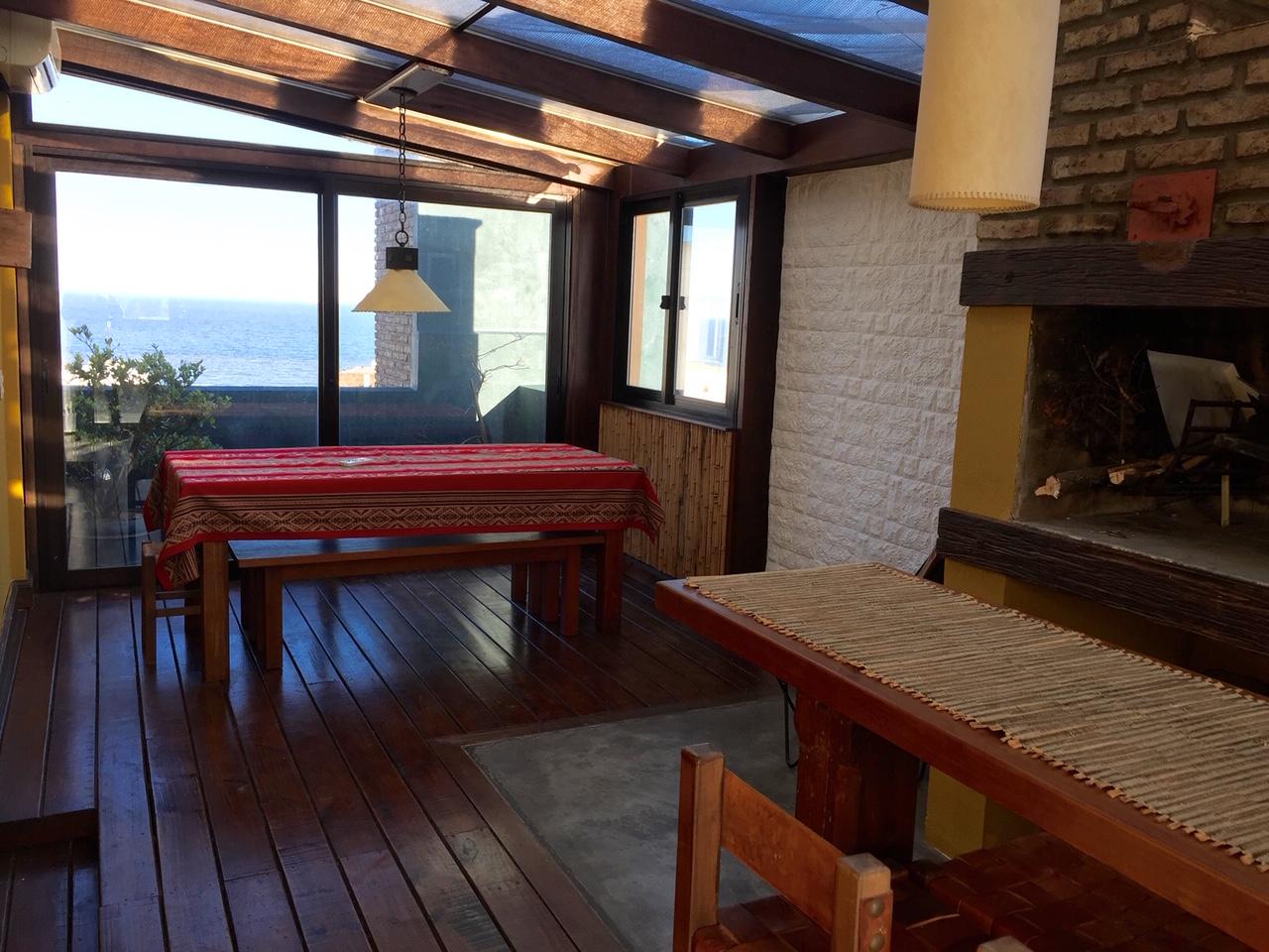Alquiler Penthouse Con Muebles Con Increible Terraza Con Parrillero