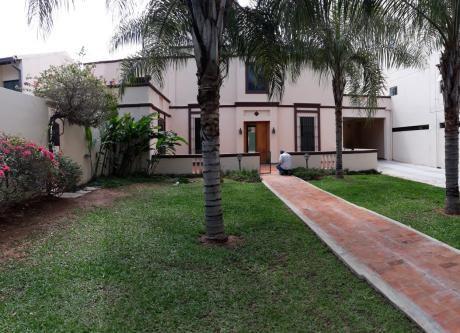 Alquilamos Hermosa Casa En Asunción
