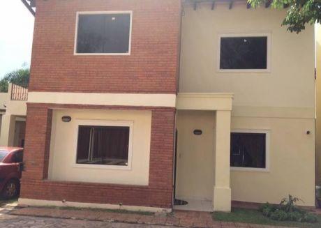 Vendo Casa En Barrio Cerrado Exclusivo En Luque!!