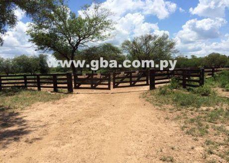 Estancia En Venta Zona Chaco Paraguayo