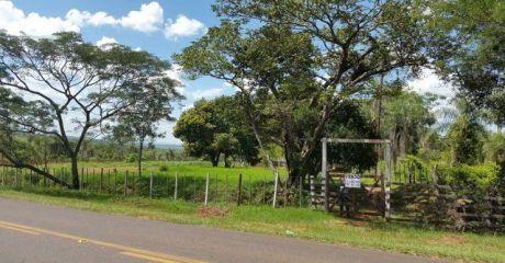 Acahay - Paraguari Sobre Ruta Asfaltada