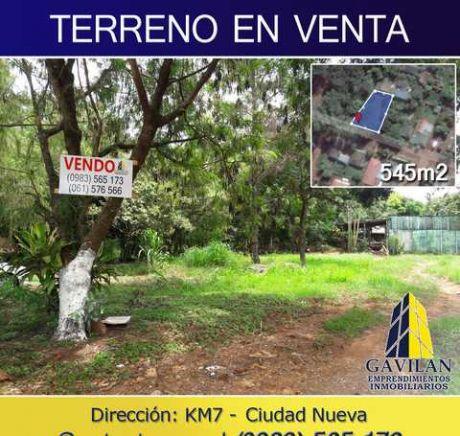 Terreno Urbeno En Km 7 Ciudad Nueva