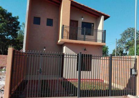 Vendo Duplex A 1 Cuadra De La Ruta Que Une Luque-san Lorenzo.