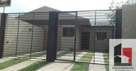 Ultima Unidad Hermosa Casa Tipo Chalet A Estrenar!!!! En Lambare!!