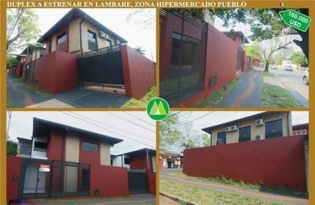 Uplex A Estrenar En Lambare, Zona Hipermercado Pueblo A