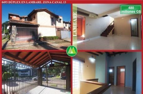 Duplex En Venta En Lambare – Zona Canal 13