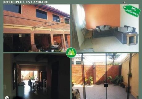 Duplex En Venta En Lambare – Cerca De La Parada De Línea 23