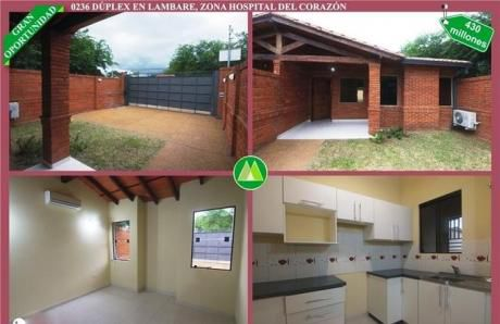 Duplex En Venta En Lambare – Zona Hospital Del CorazÓn