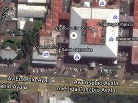Vendo Casa En Esquina. Avenida Eusebio Ayala. 720 Mts2