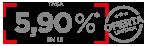 Cutoa especial 5.90%
