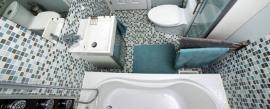 Trucos para agrandar baños pequeños