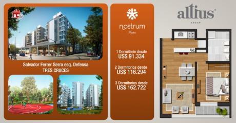 Apartamento En Venta En Tres Cruces, Montevideo