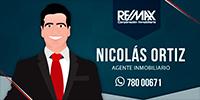 Nicolas Ortiz Agente REMAX CORP.