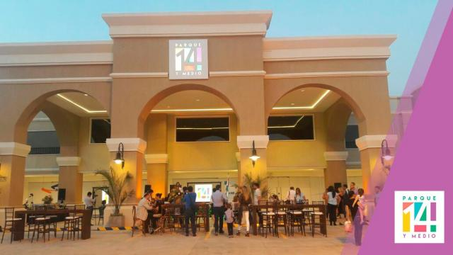 Parque 14 y Medio: el nuevo centro comercial de San Lorenzo