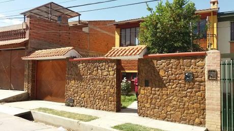 Bonita Casa En Chacacollo Los Pinos