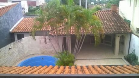 Alquilo Amplia Casa En Los Laureles S/ Alas Paraguayas