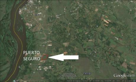 Villeta - 20 HectÁreas A 4 Kms Del Cruce Villeta Alberdi -frente A Puerto Seguro