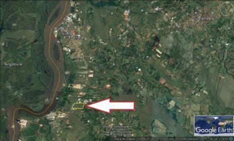 Villeta - Para Industria - 38 Hectáreas A 6 Kms Del Cruce Villeta Alberdi