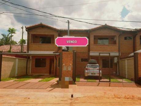 Vendo Ultimo Dúplex En Fernando De La Mora Zona Norte Una Belleza!