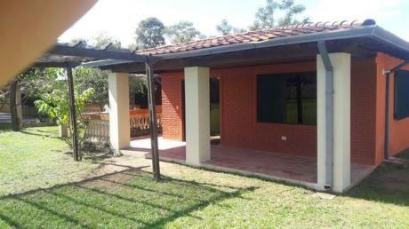 Vendo Hermosa Granja Casa Quinta En Tobati