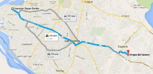 Vendo 6.48 Ha. (quinta) - Km. 23 Laurelty - Capiata - Paraguay.-