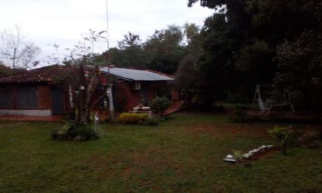 Terreno De 5,7 Has Con Casa En Itaugua (detras Del Hospital Nacional)para Inversión Ideal Para Casa Quinta O Loteamientos
