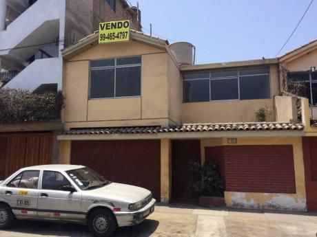 Urb. San Roque, Casa + 2 Departamentos, At: 240 M2, Ac: 311 M2, Us$330,000