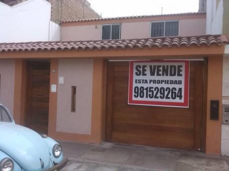 Casa Como Inversion / 2 Pisos Con Param Hasta 5 Rdm