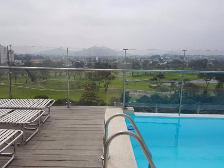 Excelente Duplex Vista Al Golf Los Incas Piscina Propia